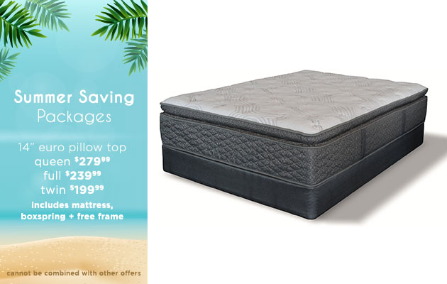 Summer Saving Packages